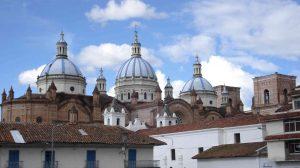 Kathedraal Cuenca Ecuador reizen