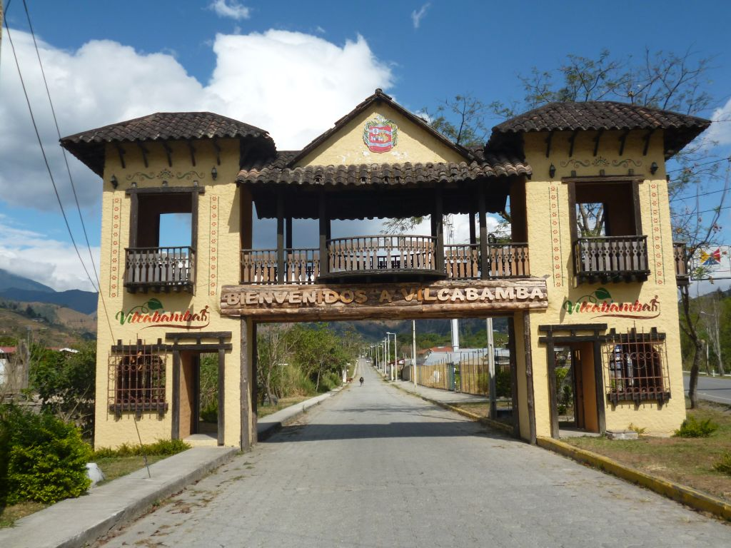 Ingang Vilcabamba