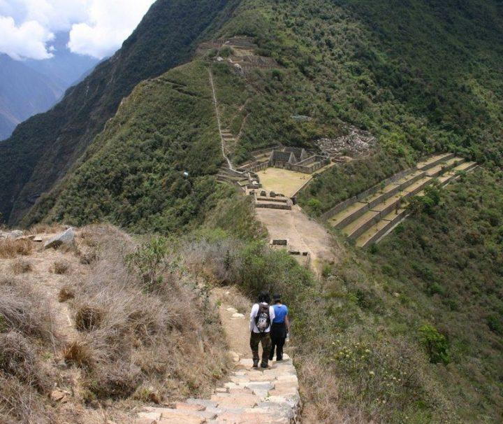 Choquequirao Inka trektocht Peru