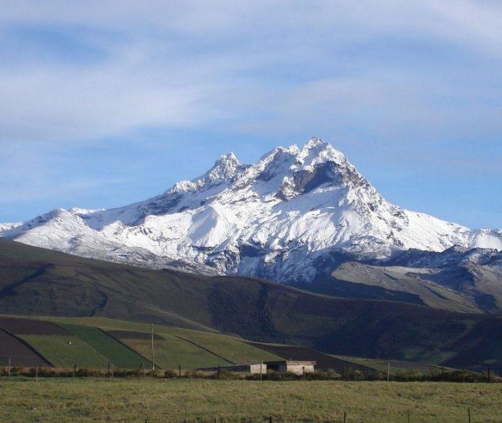 Carihuarazo bergbeklimmen Ecuador