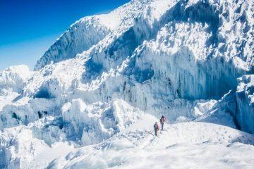 Climbing Cayambe Ecuador