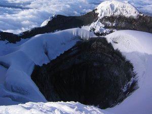 Cotopaxi Volcanic Crater Ecuador