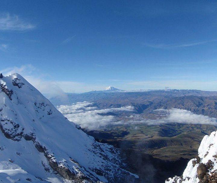 Climbing Iliniza Norte Ecuador