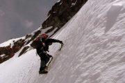 Climbing the Iliniza Sur Mountain