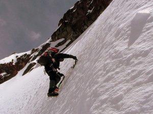 Climbing Iliniza Sur Mountain