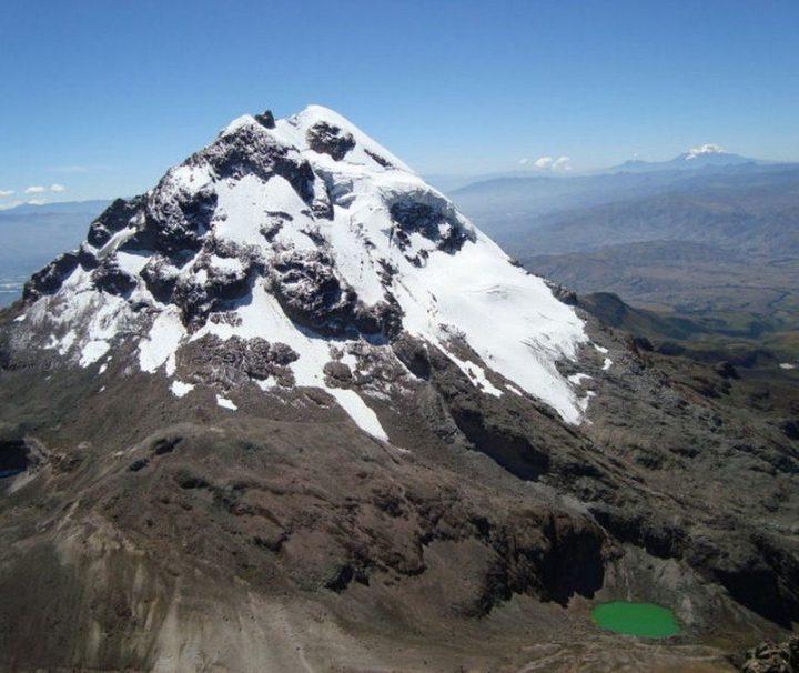 Iliniza Sur bergbeklimmen Ecuador