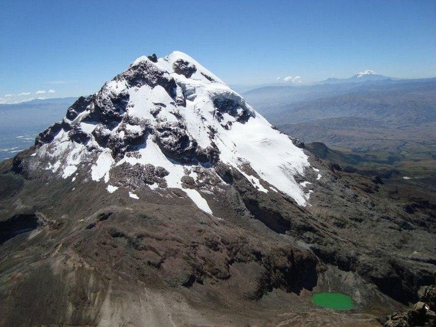 Climbing Iliniza Sur Ecuador