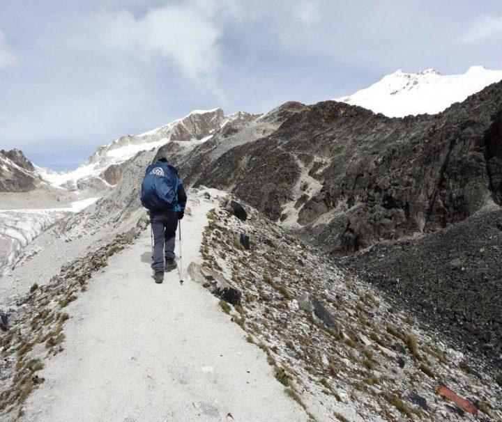 Climbing Huayna Potosi Mountain