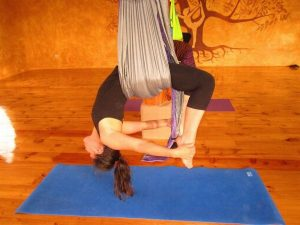 Ecuador Air Yoga class