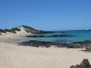 Galapagos strand maatreizen Ecuador