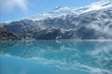 Mullaca meer trektocht Huaraz Peru