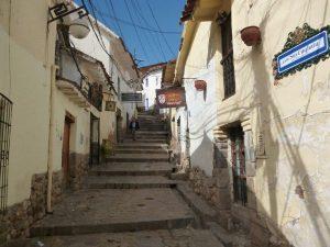 Streets in Cuzco, Peru
