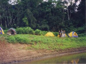 Amazon camp Pacaya Samiria