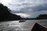 Canoe tour in Amazon