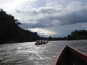 Amazon Canoe tour Ecuador