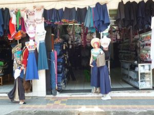 Local culture market Otavalo