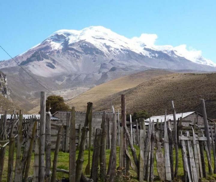 Chiborazo Volcano trek