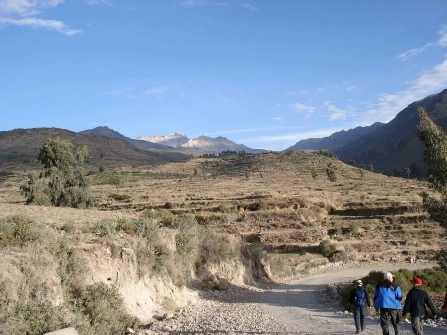Hiking in Cabanaconda Peru