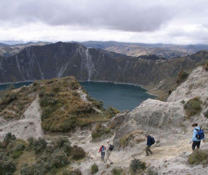 Quilotoa Loop Hike Ecuador