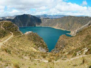 Quilotoa kratermeer Ecuador