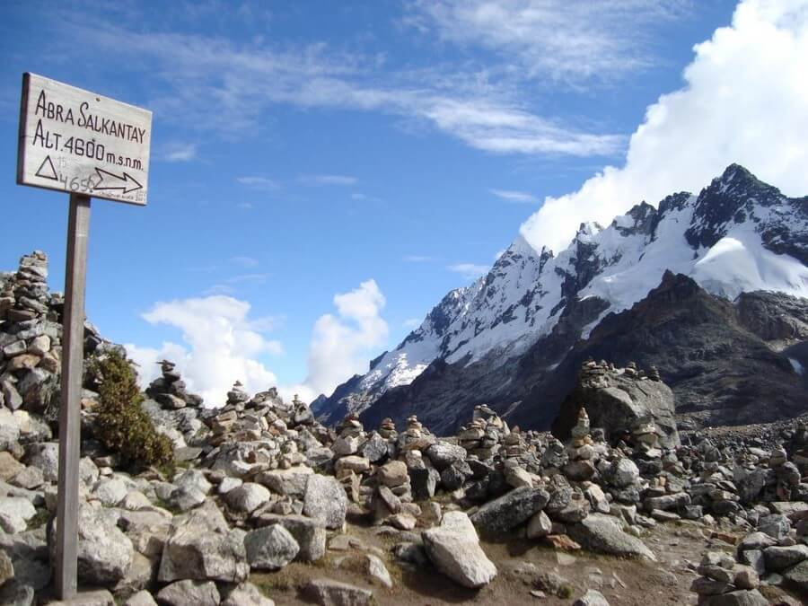 Abra Salkantay Trek summit