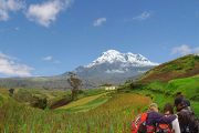Chimborazo view from Ancestors Trail