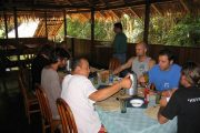 Breakfast at Cuyabeno Lodge