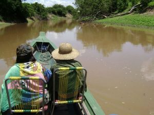 canoe tour Bolivia Amazon