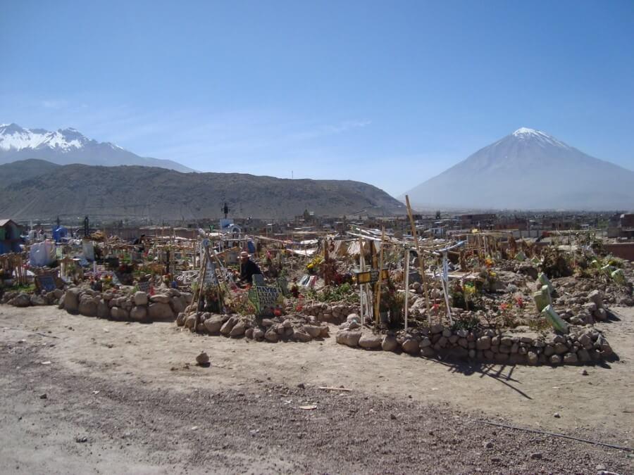 Chachani Misti Vulkanen Arequipa