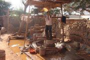 Gold workshop in Nasca