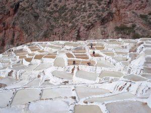 Salt pans from Salineras de Maras