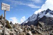 Abre Salkantay 4600 m trek Peru
