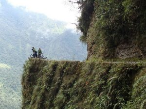 Mountainbike Death Road Bolivia