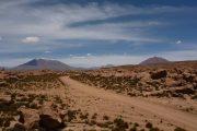 Uyuni desert road