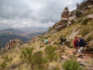 Hiking trails Surce Bolivia