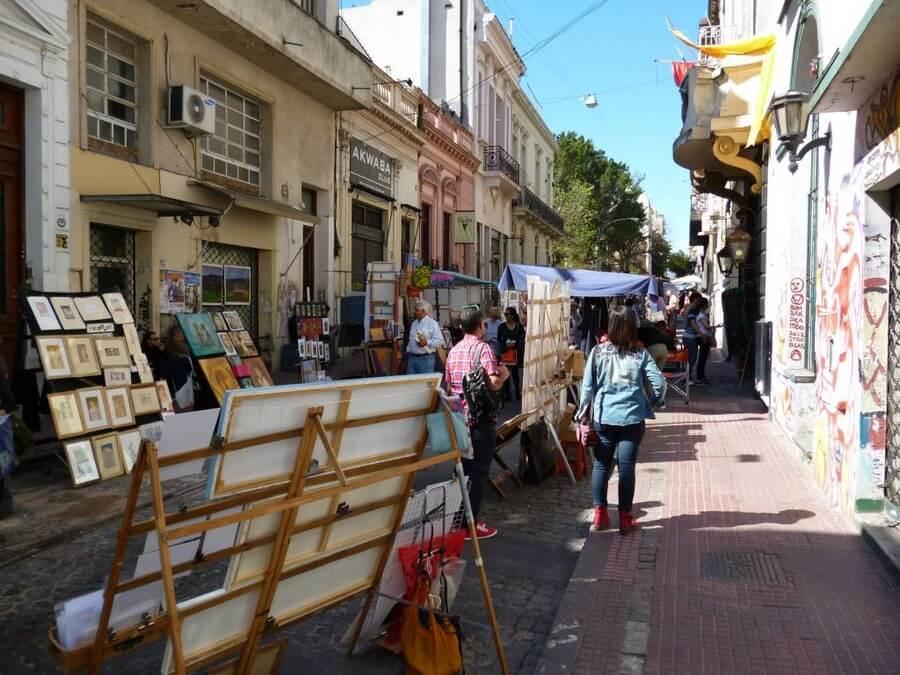Market in Telmo