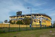 Boca Stadium in Buenos Aires