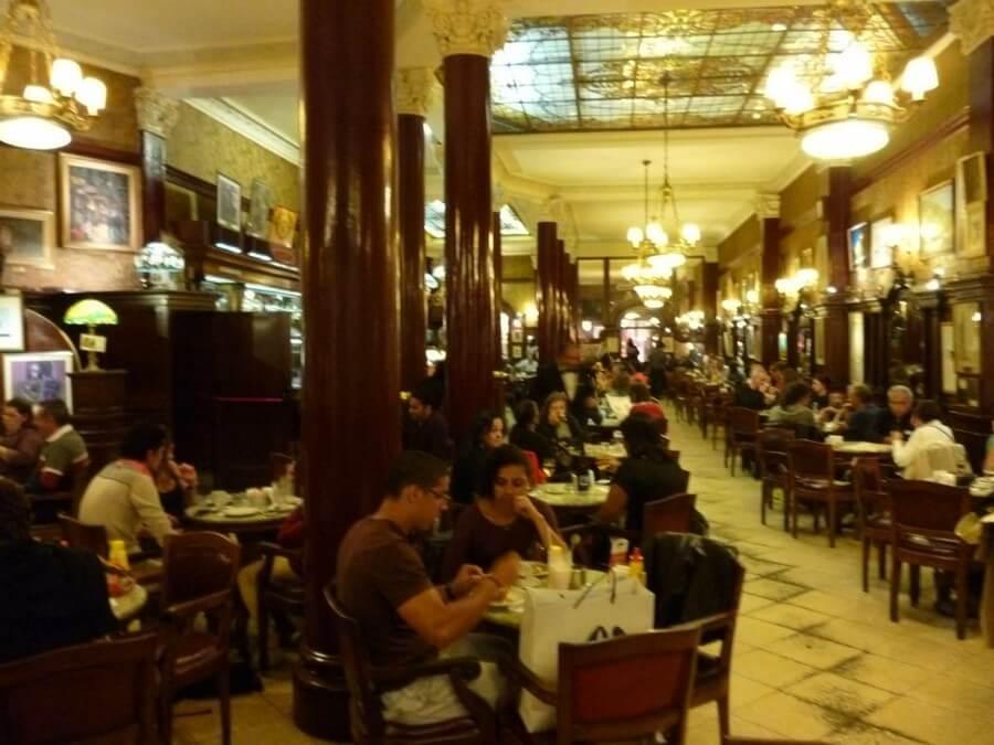 Classic restaurant in Buenos Aires