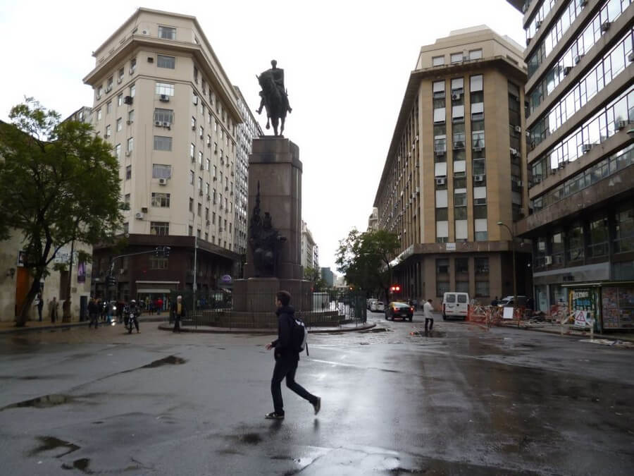 Rain in Buenos Aires