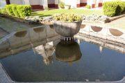 In the garden of a Jesuit Estancia