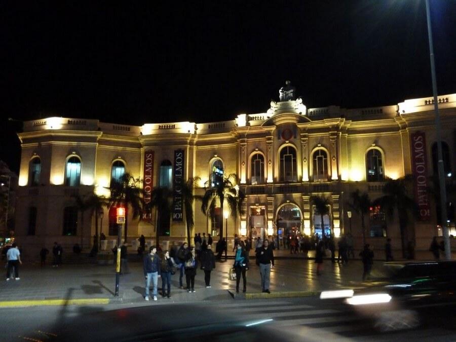 Colonial Cordoba at night