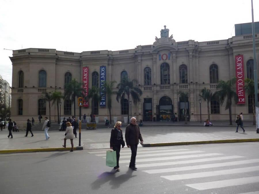 Colonial building in Cordoba