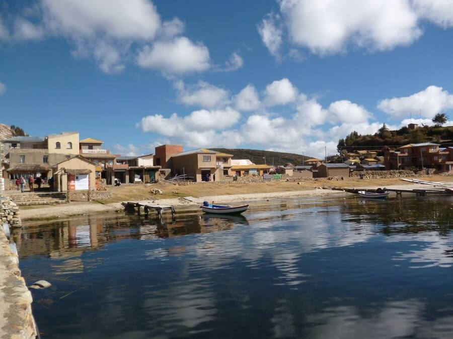 North of Isla del Sol