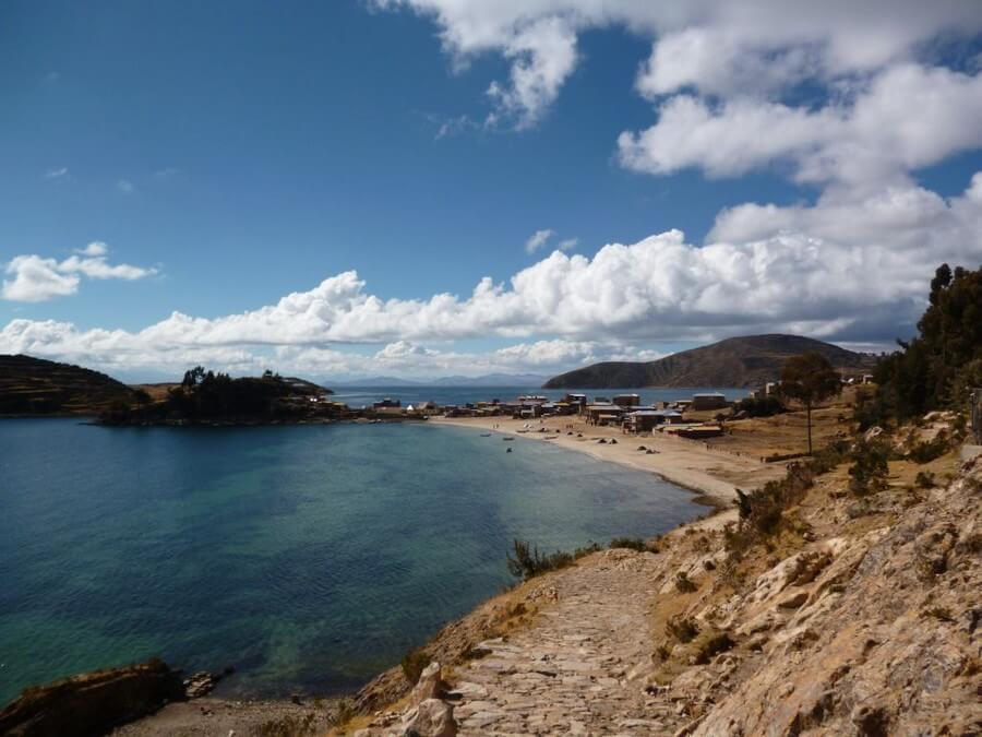 North side of Isla del Sol