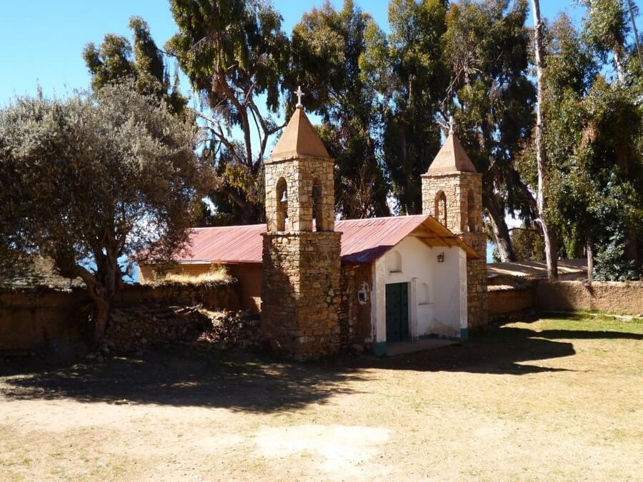 Mini church on Isla del Sol