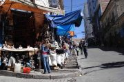 Whitches Market in La Paz