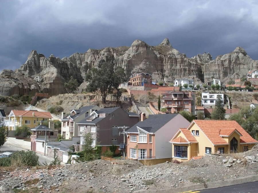 Zona Sur, Valley of La Paz