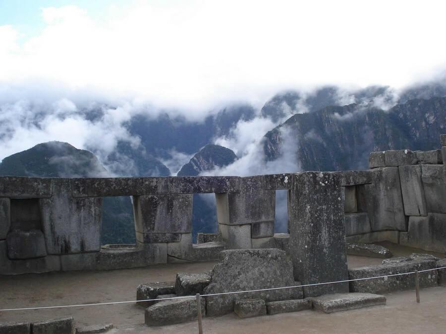 Windows at Machu Picchu