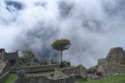 Cloudy at Machu Picchu