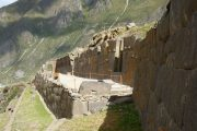 The view from Ollantaytambo